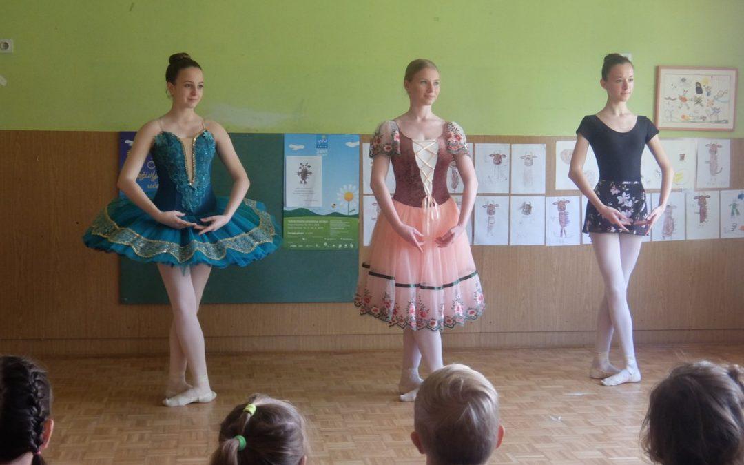 Obiskale so nas balerine