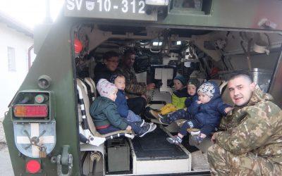 Vojaki na obisku