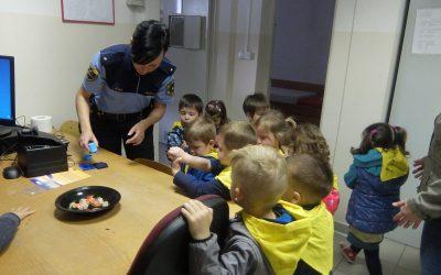 Obisk policijske postaje in knjižnice v Ljutomeru