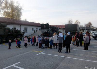 Vojaki na obisku - Vrtec Veržej 13