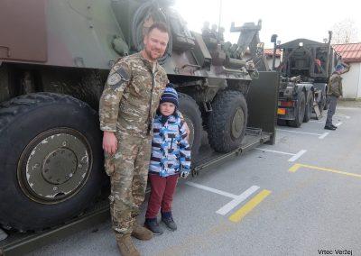 Vojaki na obisku - Vrtec Veržej 36
